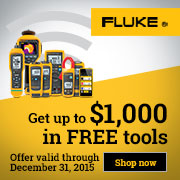 Connect your team with up to $1000 in FREE Fluke Tools